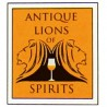 Antique Lions of spirits